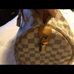 COPY - Louis Vuitton Speedy 35 Damier Azur